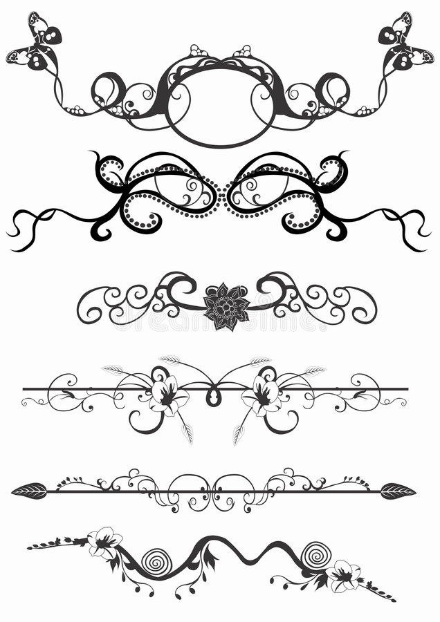 Elementos do projeto ilustração royalty free