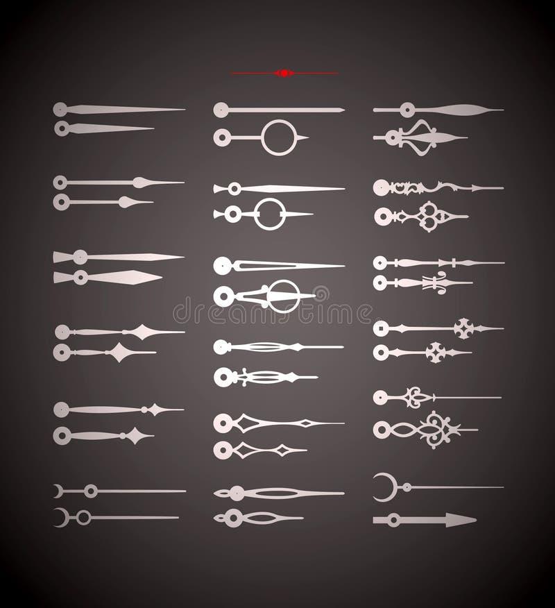 Elementos do projeto do vintage do vetor imagens de stock royalty free
