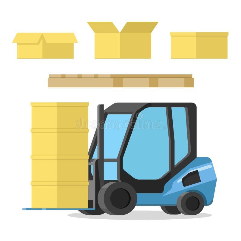 Elementos do projeto para o armazenamento e ilustração stock