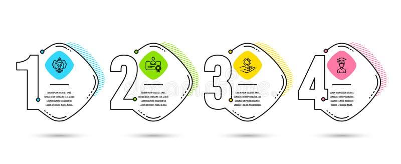 Elementos do Web ilustração stock