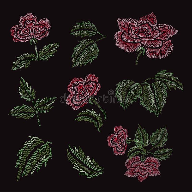 Elementos florales decorativos libre illustration
