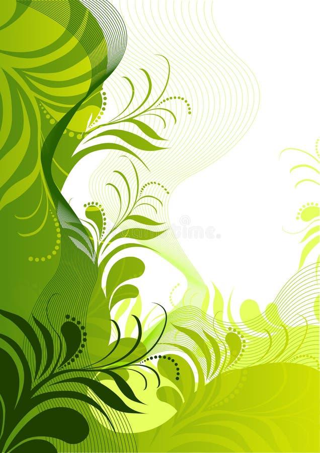 Elementos florales frescos libre illustration