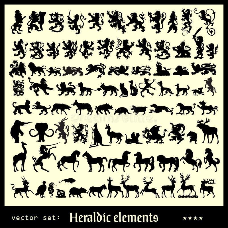 Elementos heráldicos varios libre illustration