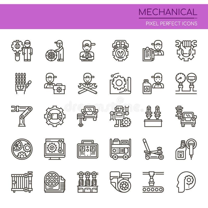 Elementos mecánicos libre illustration