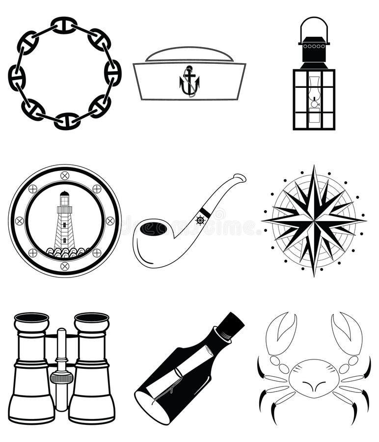 Elementos náuticos IV libre illustration