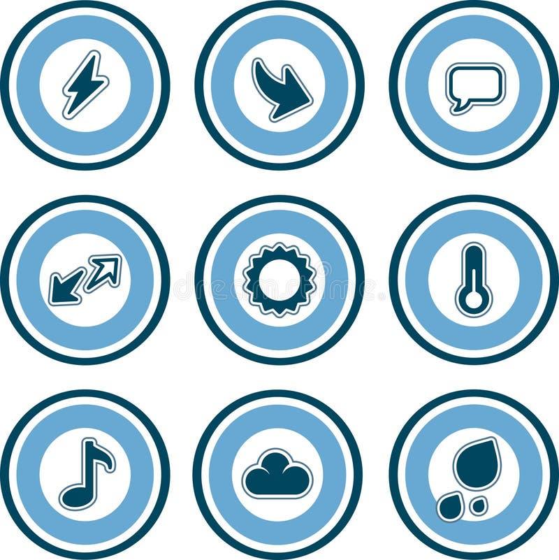 Elementos P. 13a do projeto ilustração royalty free