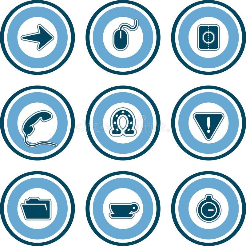 Elementos P. 13b do projeto ilustração royalty free