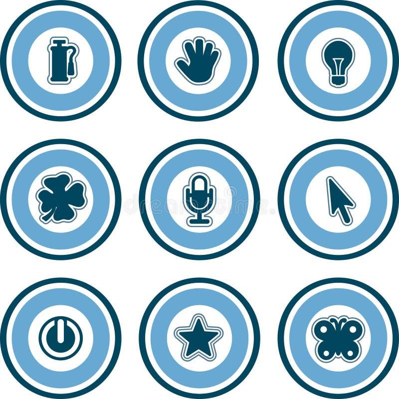 Elementos P. 13c do projeto ilustração stock