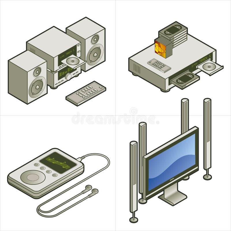 Elementos P. 15a del diseño stock de ilustración
