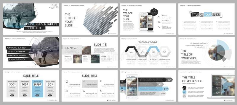 Elementos para y plantillas de la presentación libre illustration