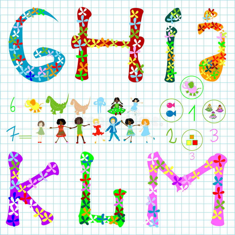 Elementos preescolares libre illustration