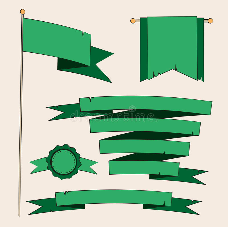 Download Elementos Retros De La Insignia Ilustración del Vector - Ilustración de fondo, ilustraciones: 41921589