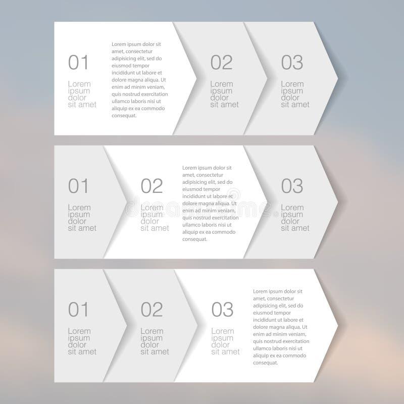 Elementos Tab Paper da Web Vetor ilustração do vetor