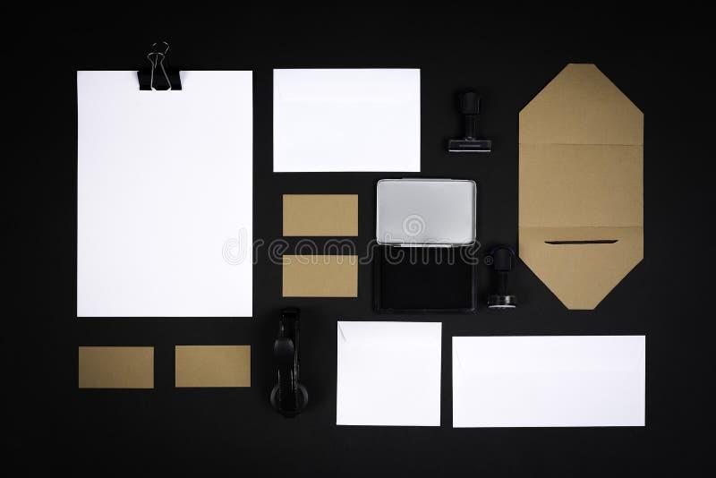 Elementos vazios do negócio para executar seu projeto fotos de stock royalty free