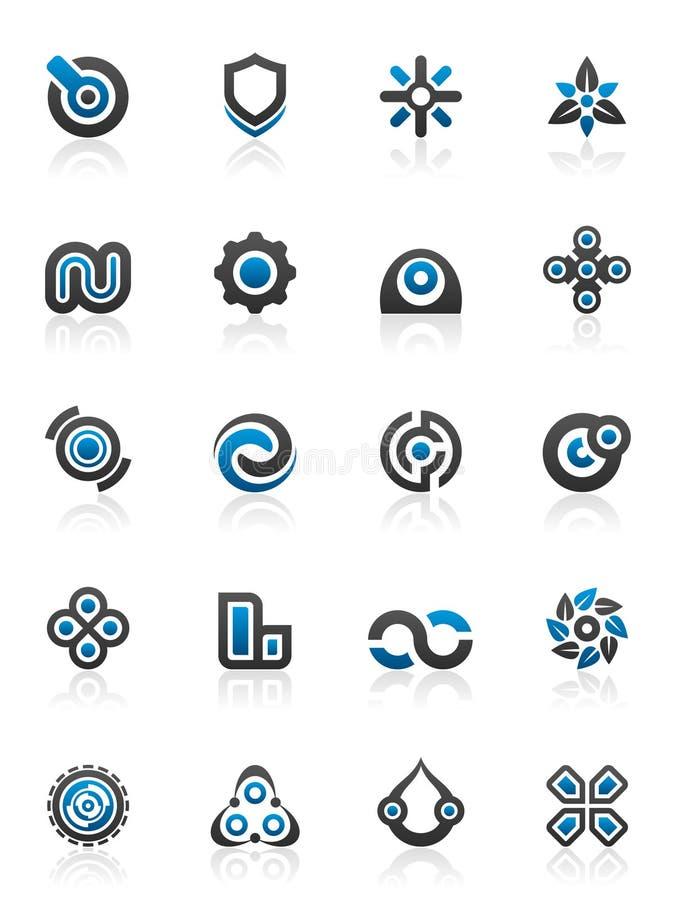 Elementos y gráficos del diseño stock de ilustración