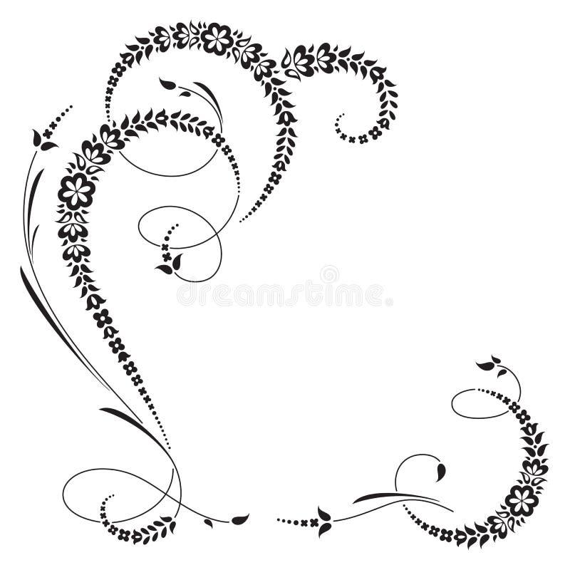 elementram vektor illustrationer