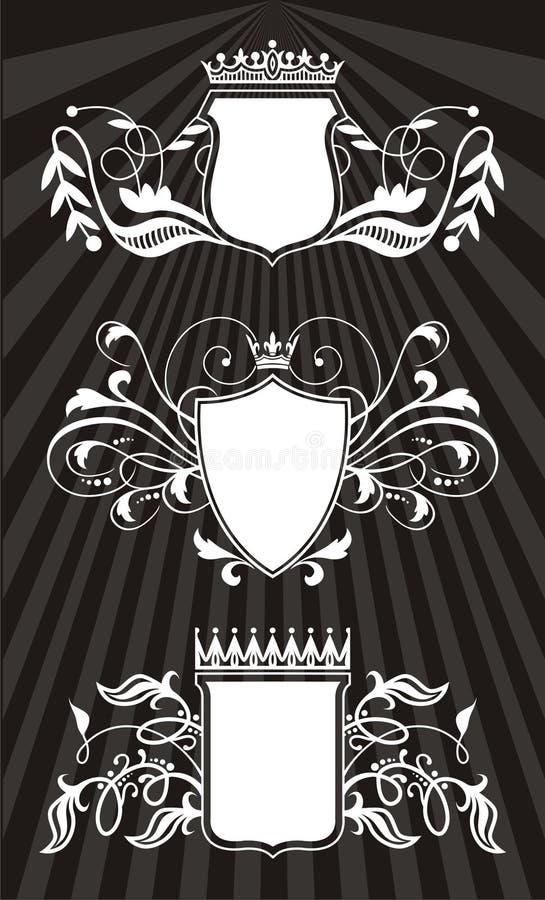 elementram royaltyfri illustrationer