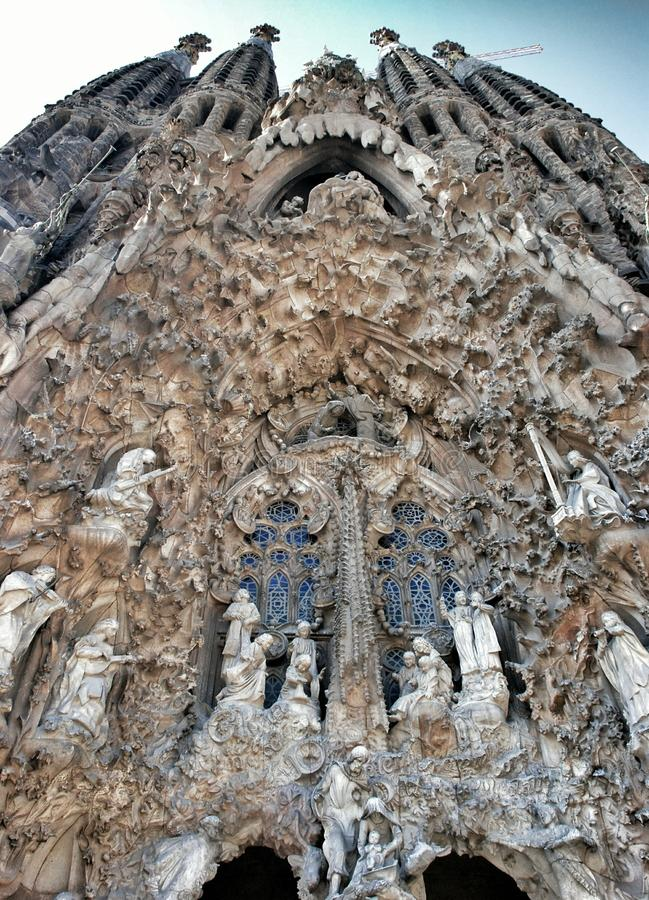 Free Elements And Details Sagrada Familia In Barcelona Royalty Free Stock Images - 54252799