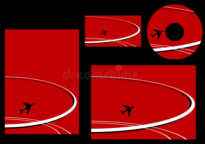 Download Elements Of Aviation Corporate Stock Vector - Image: 11200385