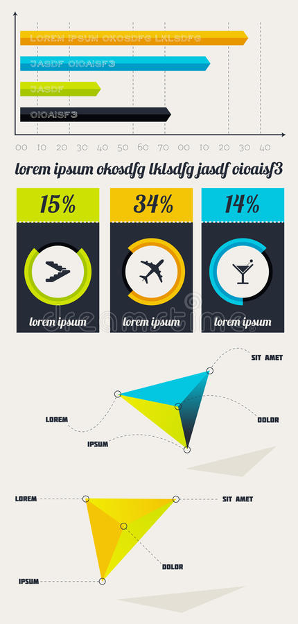 Download Elements Of Infographics With Buttons And Menus Stock Image - Image: 28984351