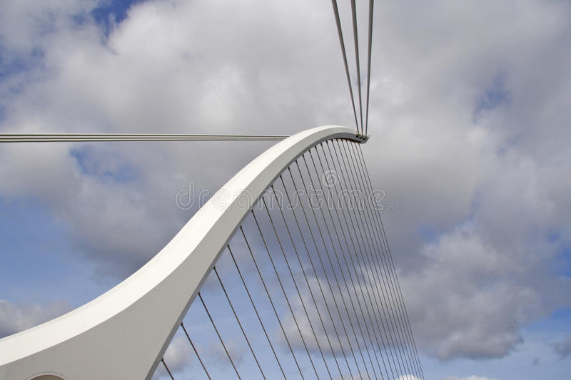 Elements Of A Modern Bridge Editorial Stock Photo