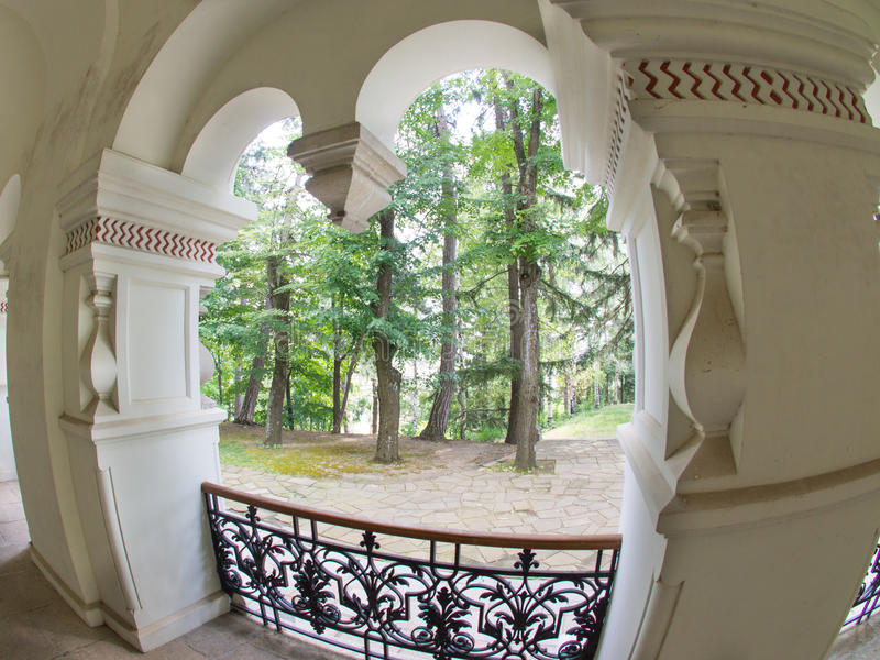 Elements of Russian architecture in Bulgaria royalty free stock photos