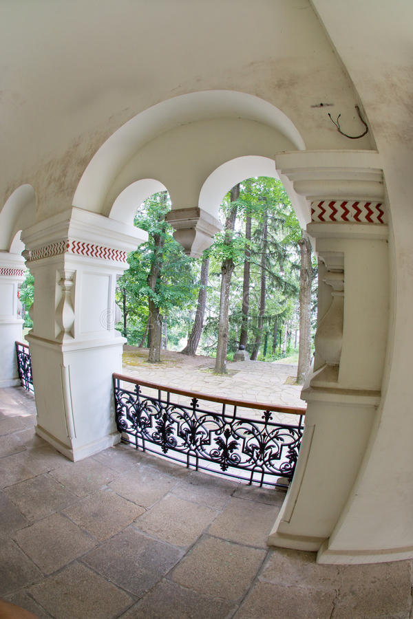 Elements of Russian Orthodox architecture in Bulgaria stock photos