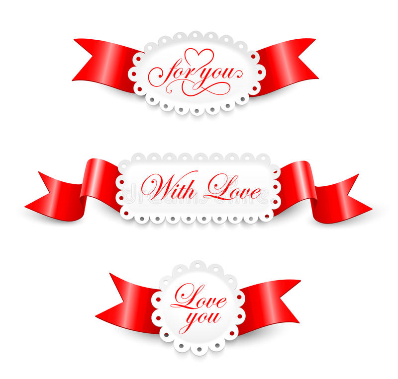 Elements to Valentines Day royalty free illustration