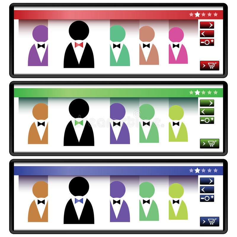 Download Elements for Web design stock vector. Image of download - 11269130