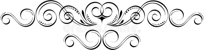elementtappning royaltyfri illustrationer