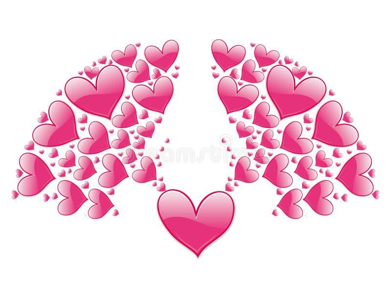 elementu dekoracyjny valentine ilustracja wektor