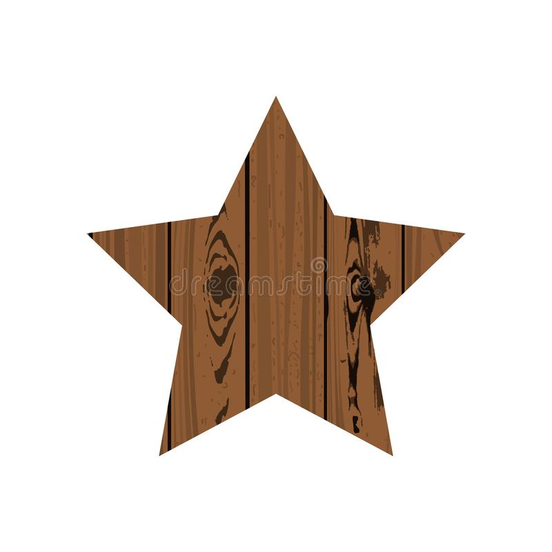 elementu siatki parquet gwiazdy wektor drewniany ilustracja wektor