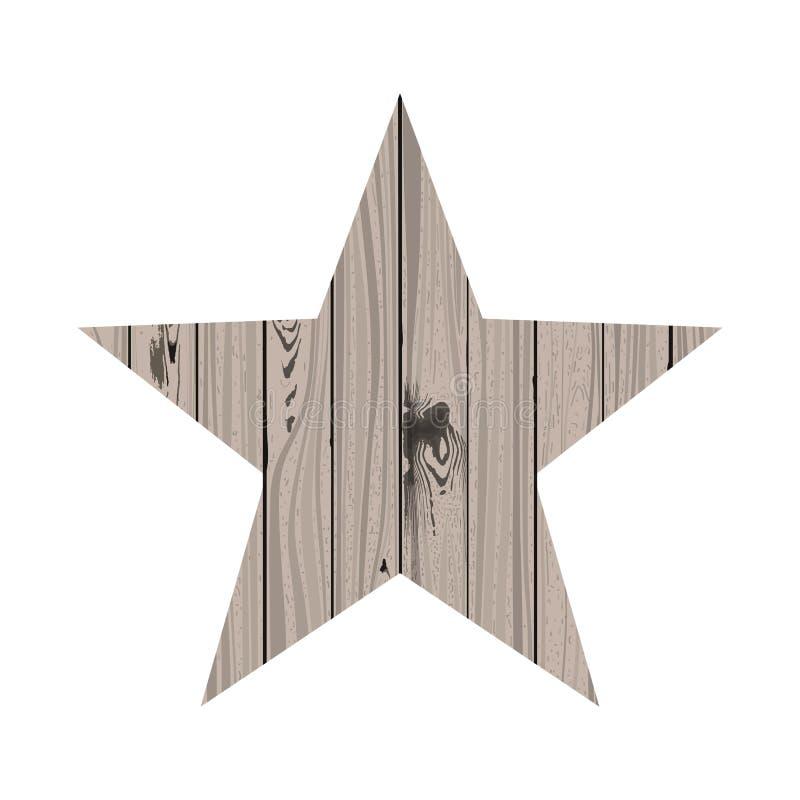elementu siatki parquet gwiazdy wektor drewniany ilustracji
