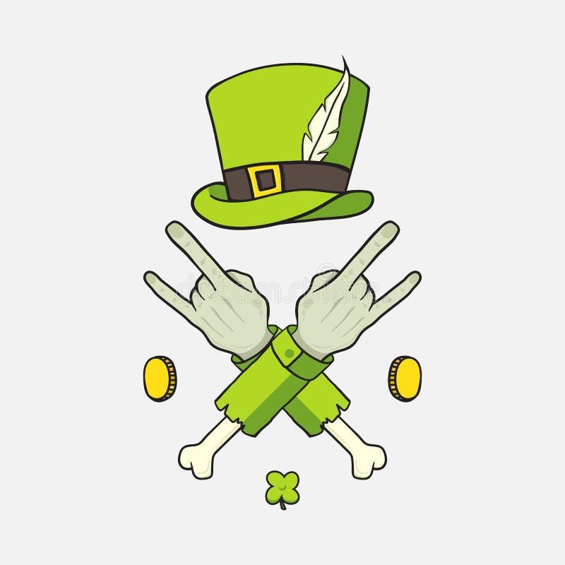 Elementu St Patrick dzień ilustracja wektor