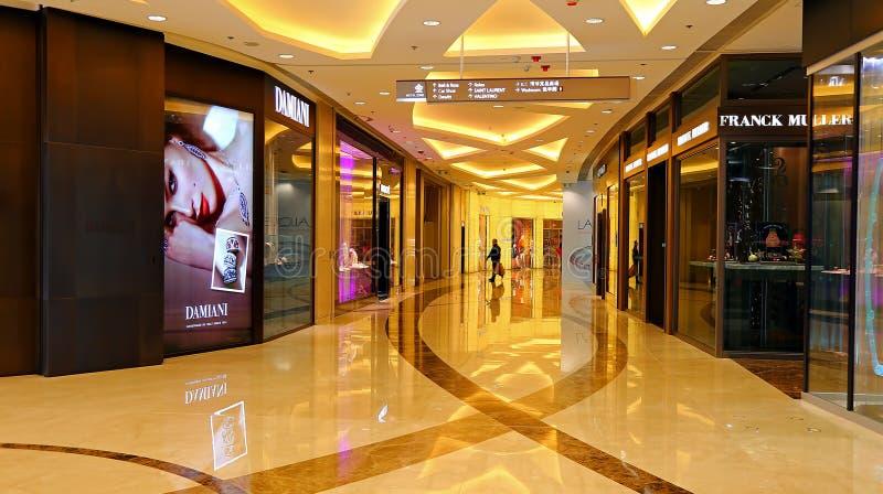 Elementu zakupy centrum handlowe, Hong kong fotografia stock