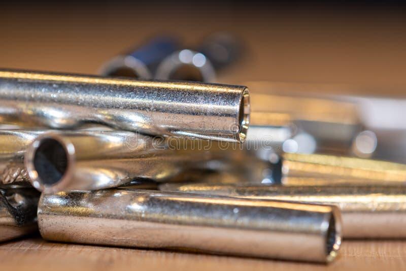 Elementy dla kompresować elektrycznych dyrygentów fotografia stock