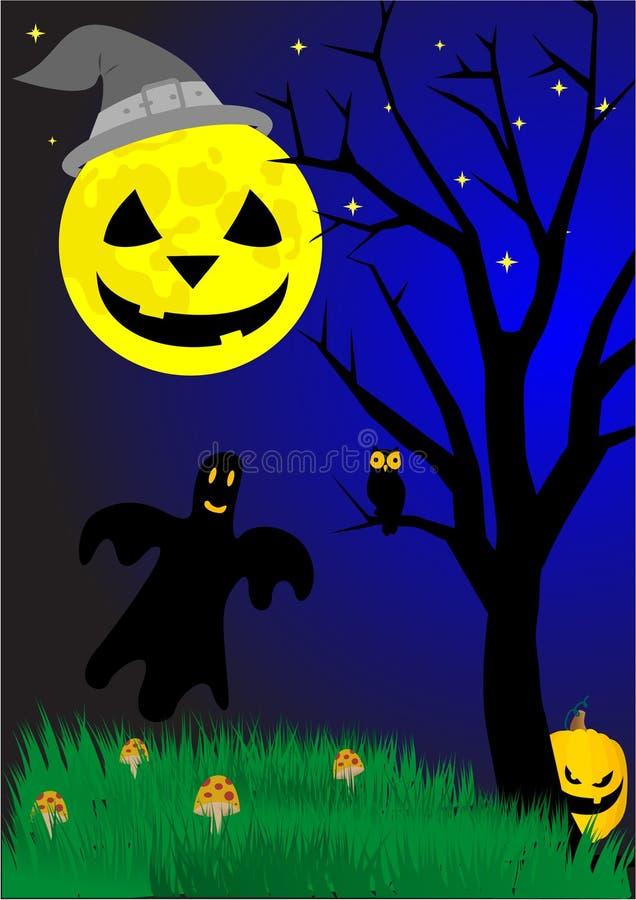 elementy Halloween royalty ilustracja