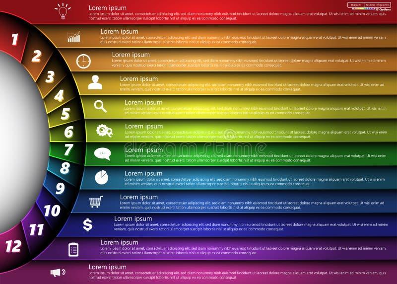 elementy infographic zdjęcia royalty free