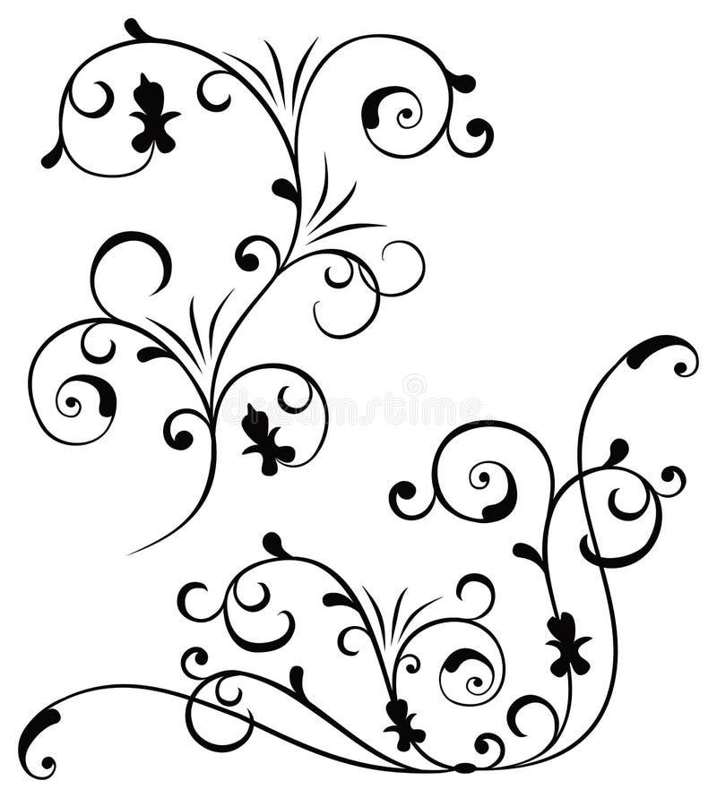 elementy konstrukcji wektora royalty ilustracja