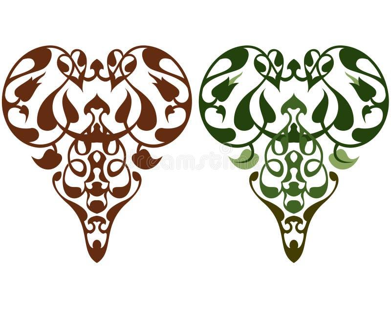 elementy maya royalty ilustracja