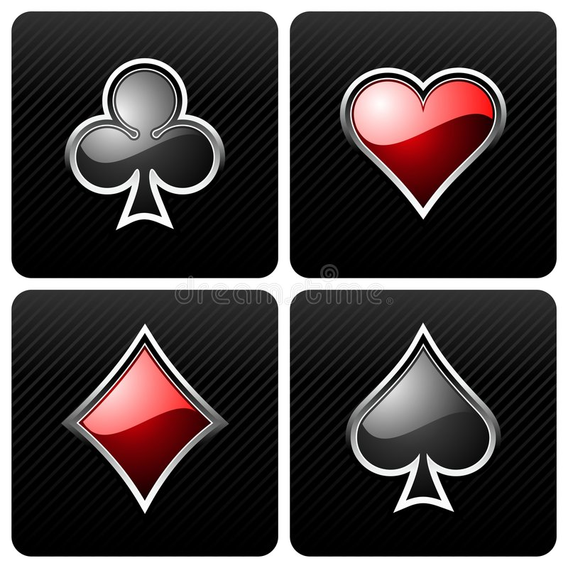 elementy na kasyno royalty ilustracja