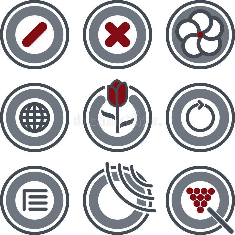 elementy projektu p 7 c ilustracji