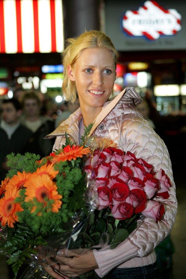 Elena Dementieva, jogador de ténis foto de stock royalty free