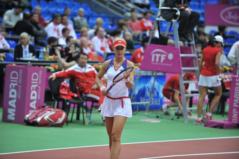 Elena Dementieva-Rússia foto de stock