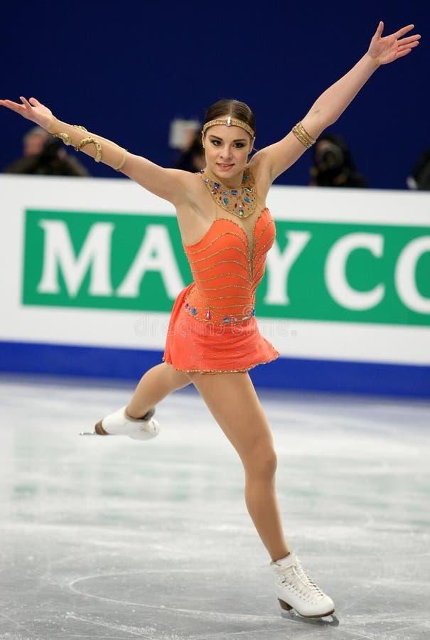 Elena GLEBOVA (EST) zdjęcie royalty free