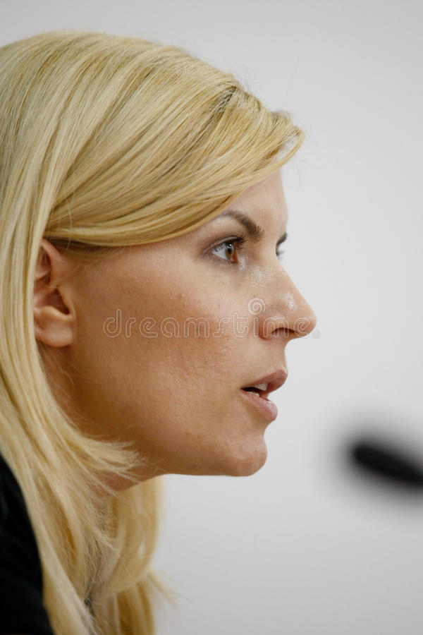 Elena Udrea fotos de stock royalty free
