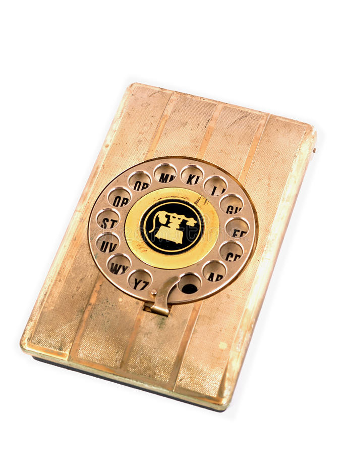 Elenco telefonico immagine stock libera da diritti