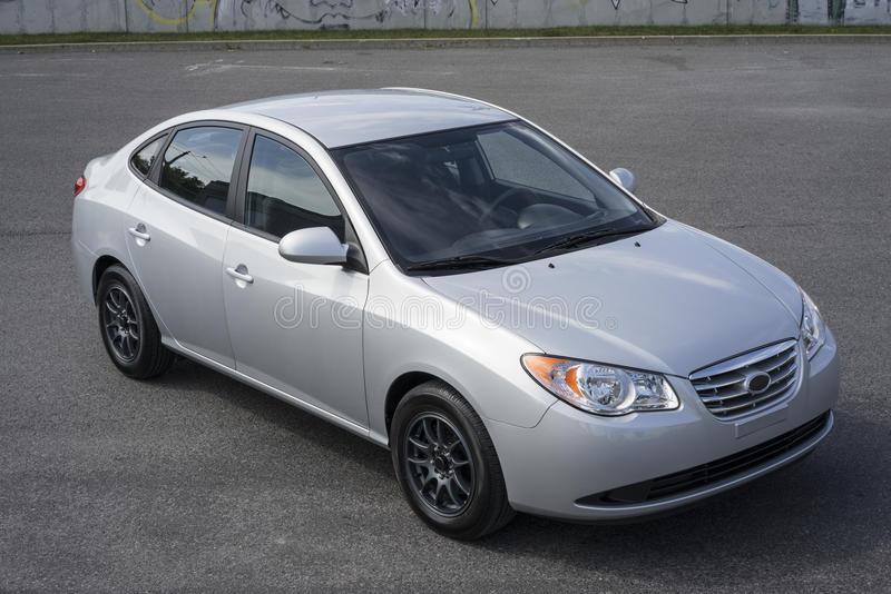 Elentra Hyundai стоковые изображения rf