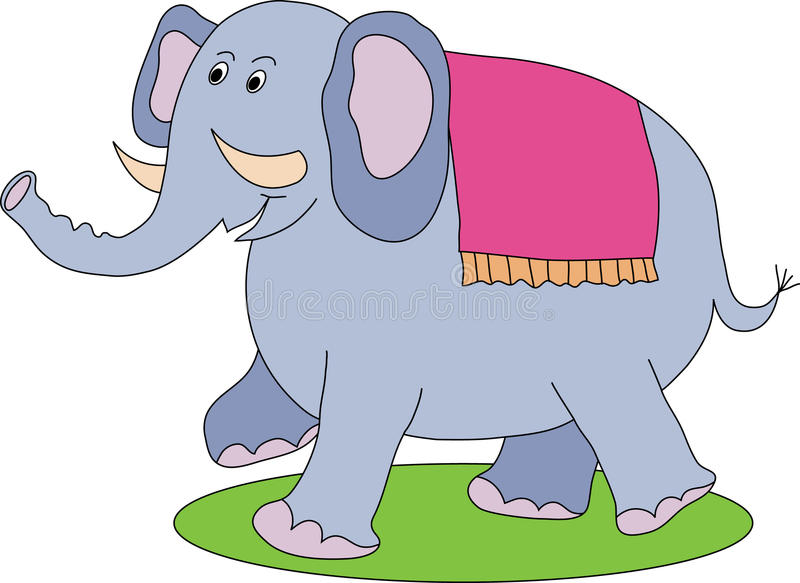 Download Elephant stock vector. Image of animal, cute, mammal - 15037904