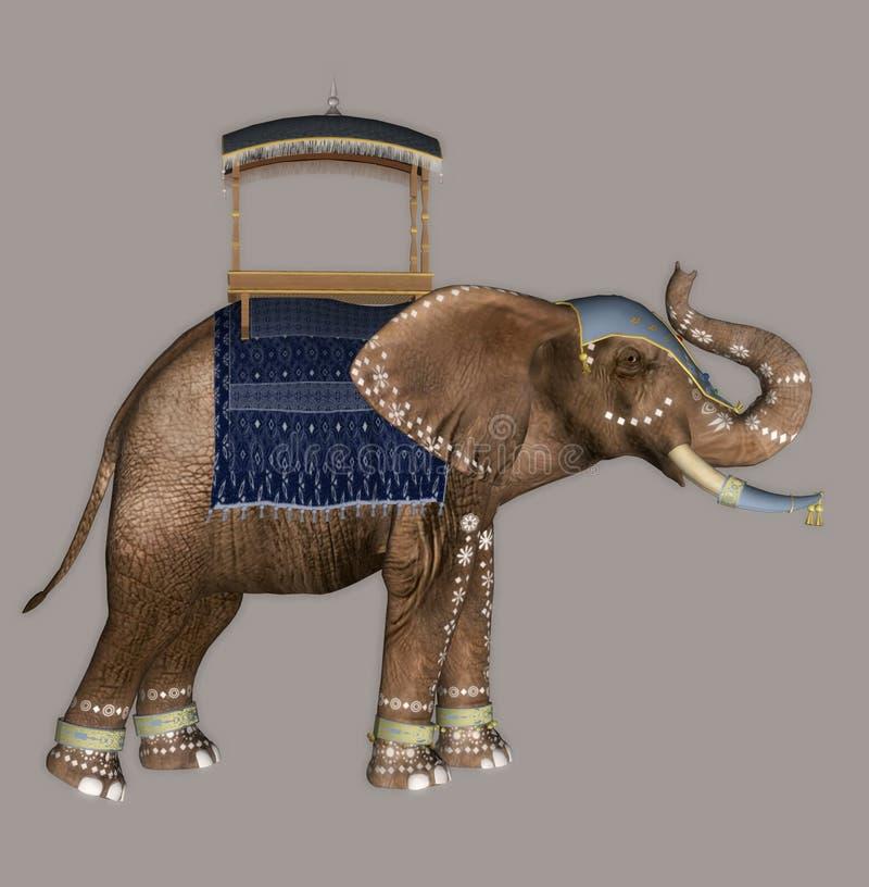 Download Elephant stock illustration. Image of graze, drip, mammal - 2308131